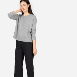Everlane Heather Grey Cashmere, size small